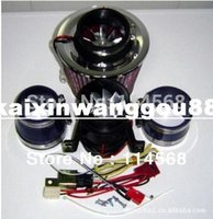 Wholesale Turbo Electric Supercharger W Electric turbocharger kit Metal wheel two Motor have in stock fast air ship