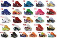 achat en gros de x chaussures basses de basket-ball-NOUVEAU arrivée Kobe 10 X Elite Man Basketball Shoes Easter kb10 All Star Blackout Bleu maba Vino Silk Road, Original Low Mans Sneakers