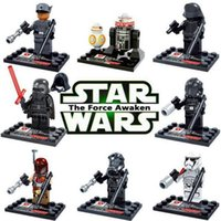 Wholesale 2016 new Marvel Super Heroes Minifigures Star Wars Darth Vader Building Blocks Sets Model young man blocks city
