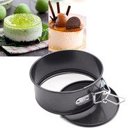 baking cheesecake - 4 inch Mini Cheesecake Quiche Springform Pan cake mold Baking Tools