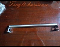 Wholesale 2016 New special promotion for Stainless Steel Wall Mounted Single Towel Bar bathroom hardware accessories