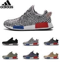 Cheap Adidas Originals NMD Runner Yeezy 350 Boost Running Shoes Women And Men Yeezys Sneakers 100% Originals Cheap Gold Black Size 36-45