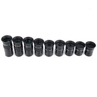 Wholesale Fully Multi Green Coated Metal Inch Piece Plossl Telescope Eyepiece Set w Filter Thread Astronomy Telescope W2467A