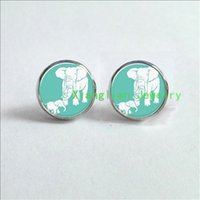 baby es - Mothers Day Gift Idea Earrings Mom And Baby Elephant Jewelry Earrings glass Cabochon Earrings ES
