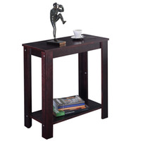 Wholesale Chair Side Table Coffee Sofa Wooden End Shelf Living Room Furniture New