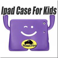 Precio de Soportar pulgadas-caja de la tableta de 10 pulgadas Caso de espuma de plástico a prueba de golpes de mini iPad para niños Diseño del soporte para Ipad Ipad 1/2/3/4 aire 2