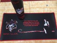 beer bar mat - 2016 hot selling e cig bar mat cool design vapor store decoration accessory bar mats Bar Games Beer Mats demon killer bar mats