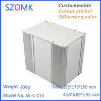 amplifier project - 4 mm pcb instrument box szomk aluminum electronic enclosure amplifier project case aluminum distribution box AK C C54
