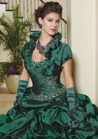 best portrait pictures - Promotion Best Selling Sweetheart Taffeta Sweet dress Ball Gown Formal Quinceanera Dresses Custom Made New Arrival