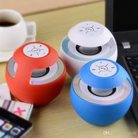 Wholesale Universal BTS Wireless Bluetooth Speaker V4 Multi Color LED Light Hands free Mini Speakers for Iphone Android Phones Ipad Ipod Free DHL