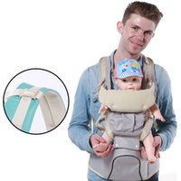 Wholesale Baby Carrier Multifunction Cotton Backpacks Baby Sling Wrap Toddler Boys Chicco Shoulder Front Carriers Pink blue
