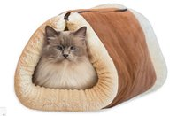 Wholesale Kitty Shack in Tunnel Bed Mat Cat Mat Keep Warm And Snuggly Dog Cat Puppy Sleeping Bag