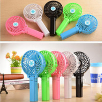 Earphone Jack Plugs battery operated hand fans - Mini Portable Fan Foldable Hand Operated Battery Rechargeable Handheld Electric Personal Fan with Retail Package up