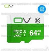 Wholesale 16GB GB GB GB GB OV micro sd card smartphone SDHC SDXC Storage card Class10 Real capacity TF card memory card C10