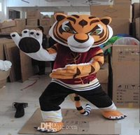 Wholesale Hot sales of high quality Cheap Kungfu Tiger Mascot Costume Kung Fu Tiger Mascot Costume Halloween Mascot Costume