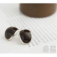 alloy coffee beans - Fashion Cute Beautiful New Exotic Coffee Beans Earring Black E153