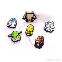 Wholesale Star Wars refrigerator Fridge Sticker Cartoon Stars Wars Solider Yoda Darth vader Fridge Magnet Funny Refrigerator Toy BY DHL