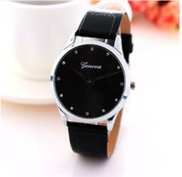 alloy chocolate - Hot Model Chocolates Style Unisex Wristwatches Men Women Leather mm Simple Dial China Wristwatches Cheap and Top Quality