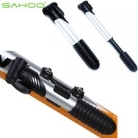 Wholesale Sahoo Portable Mini Bicycle Pump MTB Cycling Inflatable Air Pump Foldable Mountain Two Fold Inflation Bike Pump Bomba Bicicleta