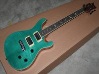 Meilleure guitare de la Chine Nouveau Reed Custom Classic vert Guitare électrique Instruments de musique en stock
