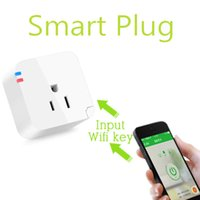 Wholesale 2016 New US Type Smart Wifi Plug Socket Electrical Adapter to Wireless Remote Control Your Switch by Using app