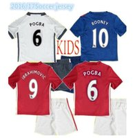 Wholesale Fast Shipping Kids Kits Boys Childr Children Red Blue RD white Maillot De Foot free ship
