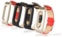 Wholesale Miband Strap Leather Replacement Strap Wristband Bracelet For Xiaomi Mi Band Wearable Wrist Accessories