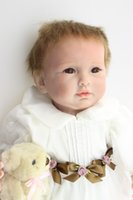 adora doll sale - Hot sale super sex simulation cheap dollar handmade birthday gift for kids adora Lifelike Bonecas Bebe silicone Reborn Baby doll