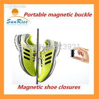 aa closure - NEW Pair magnetic shoe closures button Convenience Shoelace Fashion Make your shoes insanely easy to put on and off