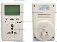 Wholesale WF D02A Saving Energy Wanf Mini WATT Electricity Power Energy Usage Ammeter Meter Monitor AC Voltage