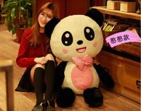 1 m panda peluche ours en peluche ours poupée ours hug cadeau anniversaire de la Saint-Valentin pour envoyer des filles amie