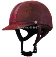 Wholesale Fashion luxury equestrian Riding Hood into the cavalry helmets protective helmet quality assurance riding helmets eps china
