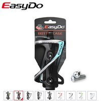 bicycle fittings - Easydo Aluminum Bike Water Bottle Cage Bicycle Cycling Kettle Holder Armature Fittings Porte Carbone Parts Mountings Accessories Limited