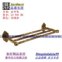 Wholesale Taiwan globallinks topsystem copper copper bathroom towel rack antique towel holder CL RG