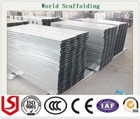 Wholesale Construction scaffolding Steel Plank Metal Plank For Scaffolding Material