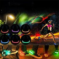 abs warning - LED Luminous Shoes Night Clip Light Running Sports New Cycling Safety Warning Christmas Xmas Gift XL T125