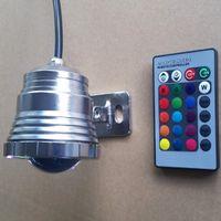 aquarium cree led lighting - DC12V LED Aquarium Fish Tank Bulb Submersible Lamp Light W RGB Waterproof IP68 Lamp with Color Changing Remote Controller Memory Function