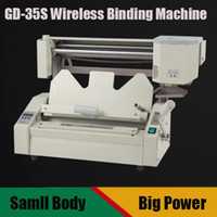 archives books - GD S Electric wireless glue binding machine financial credentials archives Wireless hot melt glue book binding machine