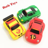 baby in car soft toy - 3pc Car Toys for Boys Soft Rubber Toys for Children Car Bath Toys in the Bathroom Girls Kids Baby juguetes Banheiros Safe