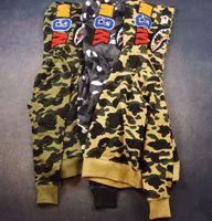 Wholesale 2016 New Autumn winter Fashion Brand camouflage shark Sweatshirts Embroidery WGM Casual Sweater cotton Mens Sweaters