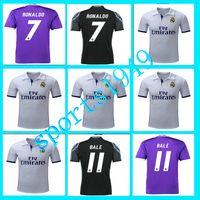 Wholesale rugby Away Home Real Madrid Jerseys Shirt Benzema James Bale Ronaldo Wholesalers Spanish league Jersey
