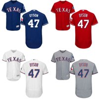 authentic rangers jerseys - Royal Blue white grey red Sam Dyson Authentic Jersey Men s Texas Rangers Flexbase Collection