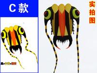 Wholesale 3D m Blue Line Stunt Parafoil Trilobites POWER Sport Kite outdoor toy