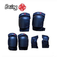 Wholesale Boiling Skateboard Protection Gear Longboard Wrist Knee Elbow Protection Professional Drift downhill Pads