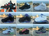 Wholesale Online Discount Retro Metallic Raging Bull Oreo V Men Cheap Basketball Shoes Sneakers Hot Shoes Sizes For Sale