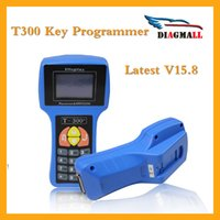 Wholesale New Generation T300 Auto Key Programmer V15 For Multi Brand Cars T Code T Auto Transponder Key By Read ECU IMMO English Spainsh