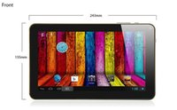 Wholesale New cheapest android quad core tablets pc inch tablet pc wifi bluetooth Allwinner A33 Andriod Ghz