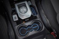 armrest cup holder - Non Slip Rubber Interior Car Door Armrest Storage Panel Mat Cup Holder Slot Pad Cover Sticker For Land Rover LR4 Discovery