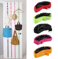 Wholesale Adjustable Bag Rack With Door Creative Hook with Multipurpose Back Type Hanging Hooks