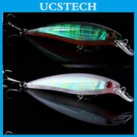 artificial trout bait - 10pcs cm g Minnow Fishing Lure Trace Fishing Lures Artificial Hard Fishing Bait Sinking Trout Bait